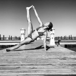 Vasisthasana (Side Plank) at 31st St. Harbor. Chicago, IL
