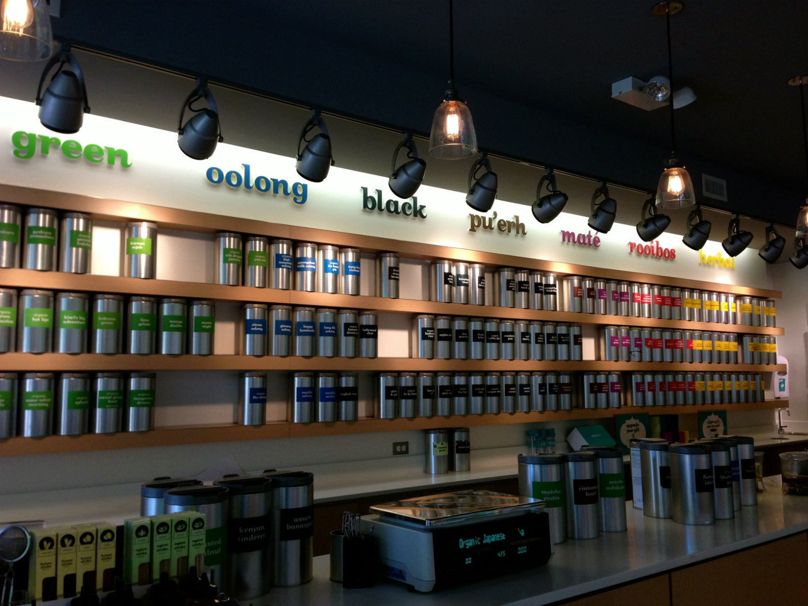 DAVIDsTEA. Lakeview, Chicago, IL.