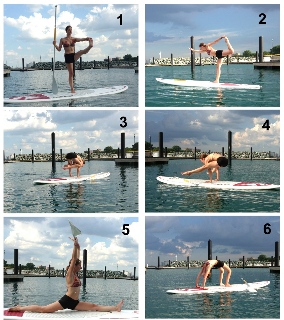 Advanced SUP Yoga Poses