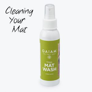 Cleaning Your Yoga Mat