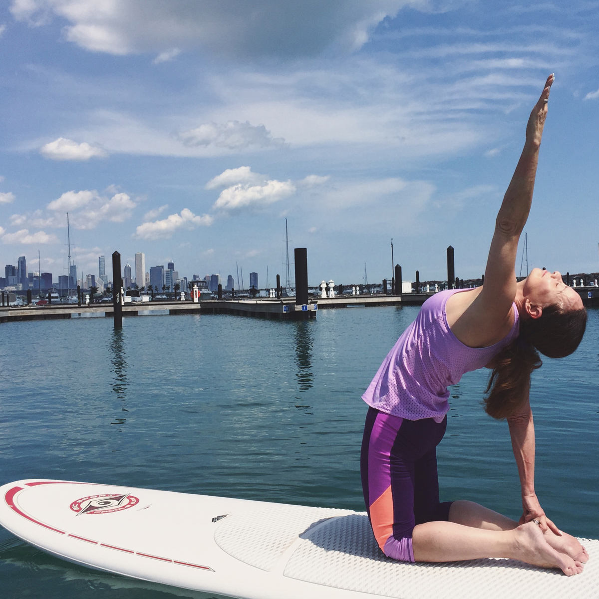 Take a private SUP yoga lesson
