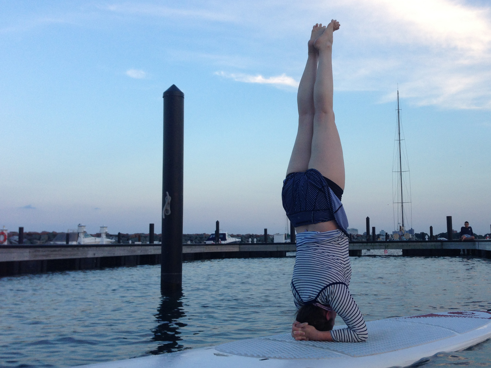 SUP Yoga 630pm Weekday Class at 31st St Harbor