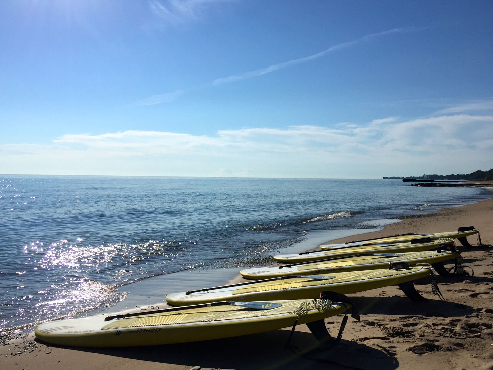 SUP Yoga 9am Sundays- LLoyd Beach on Tower Road