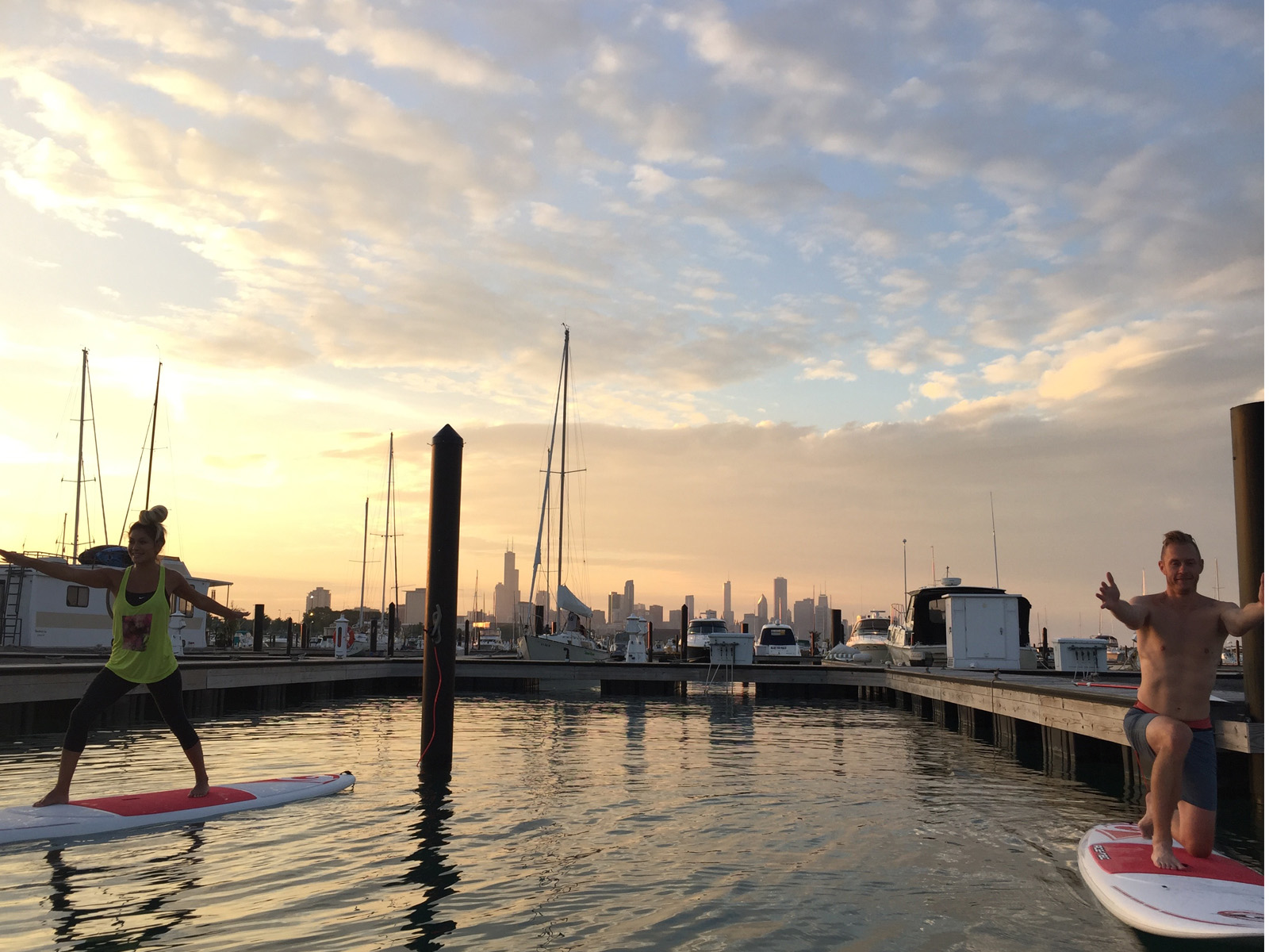 Sunset SUP Yoga- 31st St Harbor