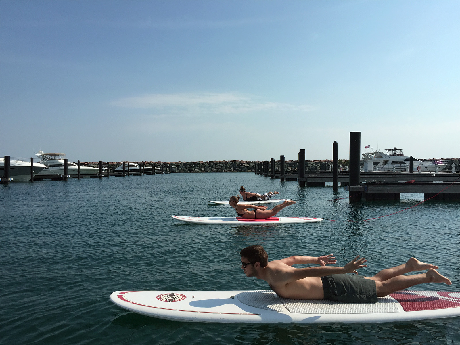 Light and easy backbends- SUP Yoga